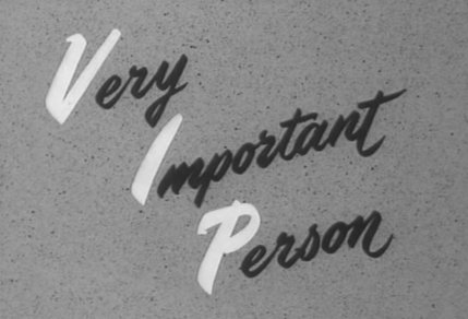 Very Important Person (1961)