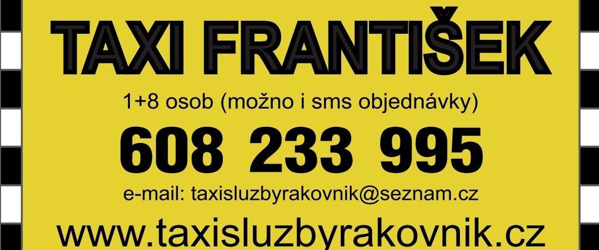 TAXI FRANTIŠEK